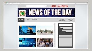 News of the Day-2/1/2015-Vishwa Gujarat