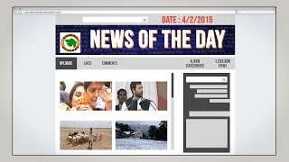 News of the Day-4/2/2015-Vishwa Gujarat