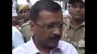 Orginal video of the respose by Arvind Kejriwal to BJP Surgical Strike