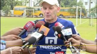 Kerala Blasters team Training Sessions - ISL 2016