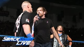 John Cena, Dean Ambrose and AJ Styles come face to face to face: SmackDown LIVE, Oct. 4, 2016