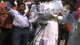 Tez News - Disabled People Protest Against Salman Khurshid