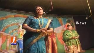 Lights Arrangement at Rajahmundry Devi Chowk Dussehra | iNews