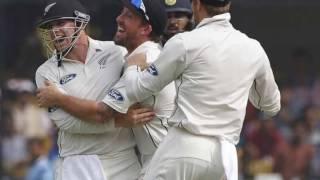 Murali VIjay Wicket - India vs New Zealand 3rd test day 1 fall of wickets
