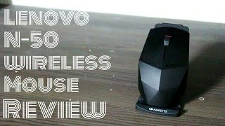 Lenovo N-50 Wireless Mouse Unpackaging and Review