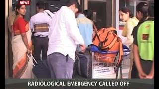 Radioactive leak reports at IGI airport New Delhi