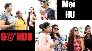 """Mei Hu G@@NDU"" Prank Corrupt Tuber PRANKS IN INDIA"