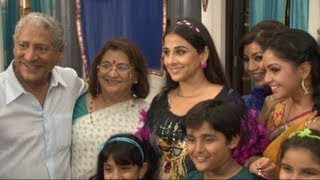 Hot Vidya Balan On The Set Of ''CHIDIYA GHAR'' For ''GHANCHAKKAR''