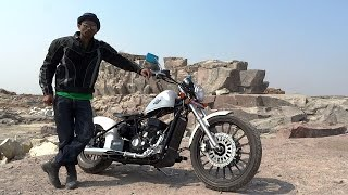 Regal Raptor Motorcycles, India. Review.