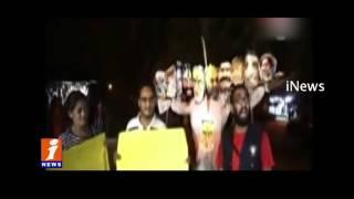 Delhi JNU Students Burn Effigy of Modi on Dussehra iNews