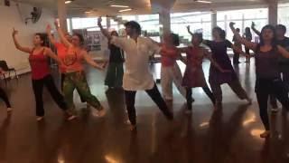 Bollywood Workshop by Devesh Mirchandani  in Santiago de Chile (India Fest 2016)