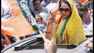 Actress Hema Malini files nomination from Mathura seat