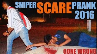 Sniper Scare Prank In India (Gone extremly wrong) - Gun Pulled Out