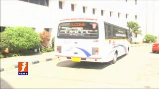 Mahender Reddy Inspects Vajra Minibuses - iNews