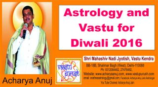 Astrology and Vastu for Diwali 2016. #AcharyaAnujJain