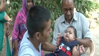 पीएम मोदी ने किया बच्ची का नामकरण