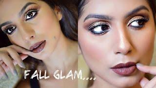 Fall Glam Makeup - Brown/tan/Indian skin