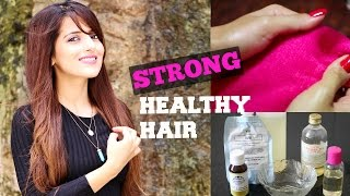 How To Apply Hair Oil For Hair Growth & Conditioning-Thick/Long/Shiny/Healthy Hair-Hair Care Routine