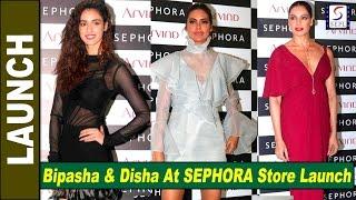 Very Beautiful Bipasha Basu & Disha Patani At SEPHORA Store Launch
