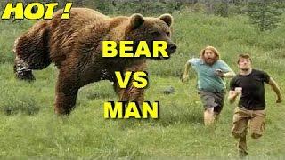 Most Amazing Wild Animals Attacks - 2 Real Bear Attacks on Human Caught on camera