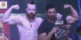 Sheamus WWE Hpeavyweight With John Abraham Force 2 promotions