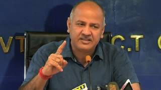 Delhi Deputy CM Manish Sisodia Briefs Media on Being Interrogated by ACB & on Delhi Cabinet Decision
