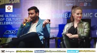 Shivaay Movie Comic launch - Ajay Devgan, Erika Kaar at Bombay Exhibition Centre