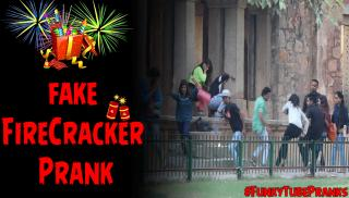 DIWALI PRANK | Fake Firecracker | Pranks In India | FunkyTube