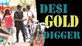 Gold Digger Prank India (Gone Right) - ANB Team