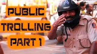 Pranking With Delhi Police(Public trolling 2016)|ANB Team
