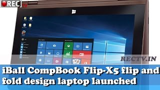iBall CompBook Flip X5 flip and fold design laptop released at Rs 14999