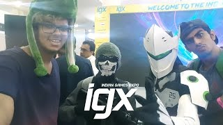 India's Biggest Games Expo IGX 2016 Mumbai Ft. HeyLeon | India's First Playstation VR