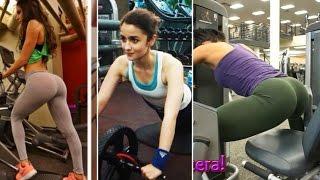 Sunny Leone, Deepika Padukone, Alia Bhatt, Jacqueline Fernandez Hot Workout Videos