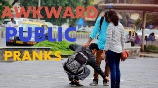 Awkward Public Pranks - Pranks in india 2016 - Tango Tube
