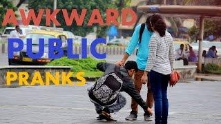 Awkward Public Pranks - Pranks in india 2016 - Tango Tube