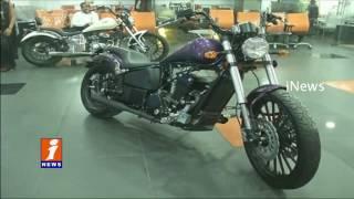 Bandaru Dattatreya Inaugurates Fab Motorcycle Showroom Hyderabad iNews