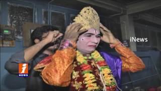 Killing of Narakasura in Ongole - Diwali - iNews