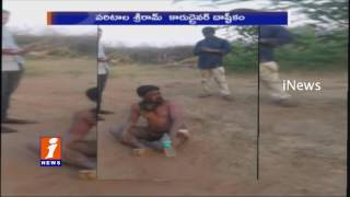 Caught in Camera - Paritala Sriram Driver Assaulting Person in Anantapur - iNews