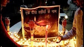 ज्वाला मां की गोद में शहीदों के नाम की जगी ज्योत