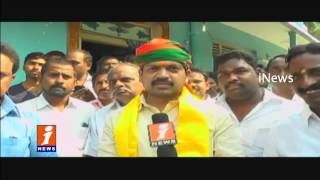 Minister Kollu Ravindra Launched Jana Chaitanya Yatra in Machilipatnam iNews