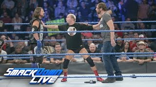 James Ellsworth attempts to apologize to Dean Ambrose: SmackDown LIVE, Nov. 1, 2016