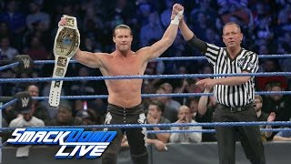 Dolph Ziggler vs. Curt Hawkins - Intercontinental Title Open Challenge: SmackDown LIVE, Nov. 1, 2016