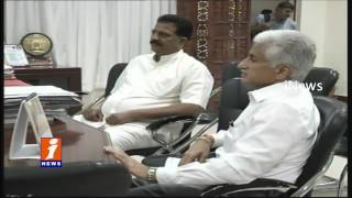 YCP Leaders Meets Bhanwarlal Over Voter Registration Problems iNews