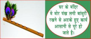 Flute Brings Prosperity & Success. #AcharyaAnujJain लाभ दिलाती है, बांसुरी घर &#