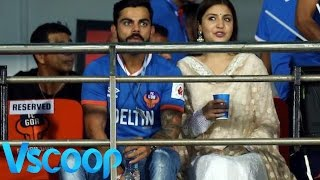 Anushka Sharma & Virat Kohli Spotted Together In Goa #VSCOOP