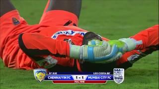 ISL 2016: Chennaiyin 1-1 Mumbai City