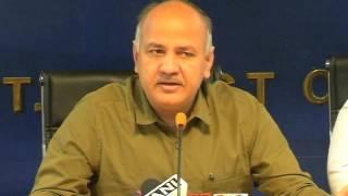 Dy CM Manish Sisodia Briefs Media on the Preparatory Meeting On Delhi Pollution