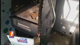 ATM Theft Fail | Robbery Attempt At Canara and SBI Bank ATM in Malkajgiri | iNews