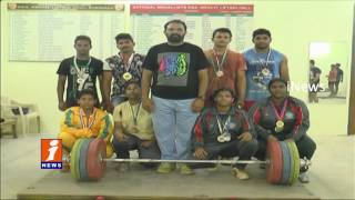 Kakinada Weightlifting Players Working Hard For Next