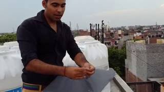 Delhi boys extreme kite flying .. how to fly kites